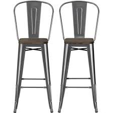 Industrial Bar Stool With Back Bar Stools Ikea Counter Stools Dhp Luxor Metal Bar Stool With