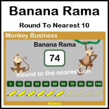 banana rama u2013 round to nearest 10 the notebook gallery