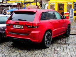 red jeep 2017 jeep grand cherokee srt 8 2017 23 september 2017 autogespot