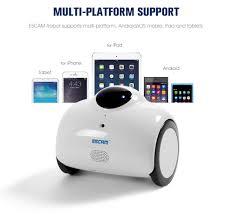 Escam Robot Qn02 Smart Wifi 720p Ip Camera 194 27 Online