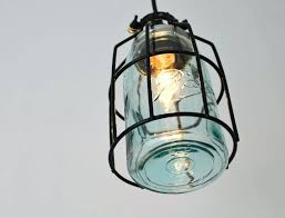Jar Pendant Light Blue Mason Jar Pendant Lights Chandelier Hanging Jars U2013 Eugenio3d