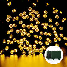 Battery Powered Led Lights Outdoor by Famed Battery Operated String Lights Led Blue Ledertek Battery