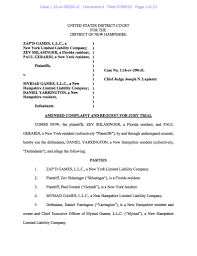 suing zev shlasinger suing dan yarrington for fraud and breach of