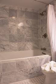 bathroom shower tub tile ideas natural stone wall decoration
