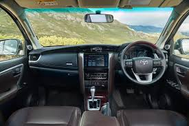 suv toyota inside comparative review ford everest 3 2 4x4 xlt vs toyota fortuner