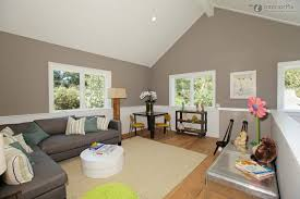 gray trim white walls living room transitional with neutral colors