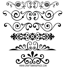free decorative ornaments vector 123freevectors