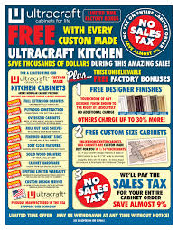 kitchen cabinet sales limited time offers