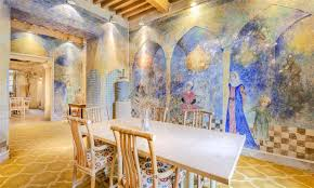 French Chateau Interior Medieval French Chateau With Original Picasso Murals Goes On Sale