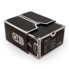 phone diy cardboard type projector black