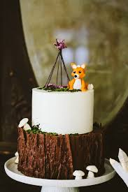 woodland themed baby shower wildberry woodland cupcakes