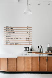 Home Design Stores In Berlin by Menu Board At Passenger Coffee U0027s New Coffee Bar U0026 Tea Room