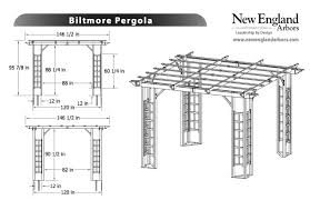 vinyl pergolas perfect arbors