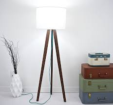wood floor lamp plans floor lamps for small spaces rumah minimalis mid century modern