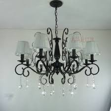 110v 220v country style modern crystal chandelier with shade e14