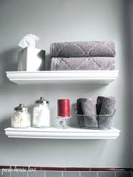 Shelves In Bathrooms Ideas Bathroom Floating Shelves Ibbc Club