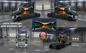 new volvo vnl volvo vnl 780 nature skin ats american truck simulator mod ats mod