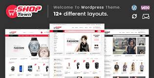 woocommerce themes store shop town multipurpose woocommerce theme by templatemela themeforest