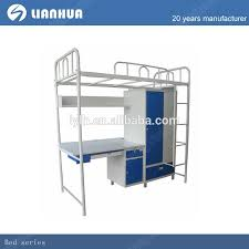 Student Bunk Bed With Study Table Metal Bunk Bed With Desk Buy - Study bunk bed