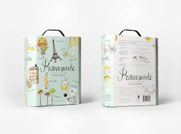 promenade french wine packagingart and design inspiration from