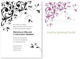 Create Wedding Invitations Online Customized Wedding Invitations Free Wblqual Com