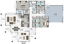 4 bedroom floor plans roomsketcher house 2 1 bath 3d plan modern