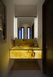 Contemporary Vanity Mirrors Powder Room Lighting Ideas Powder Room Contemporary With Modern