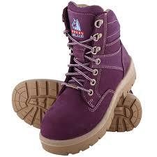 steel blue womens boots nz steel blue work boots southern cross purple