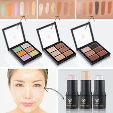 color concealer online shop huamianli 3d highlighter foundation stick pen 6 color