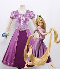tangled halloween costume wholesale princess rapunzel dress tangled custom made women