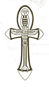 cros tattoo ankh cross tattoo design
