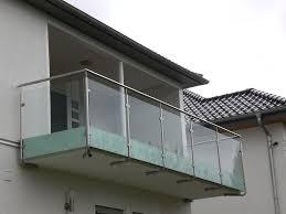 edelstahl balkon mit glas schlosserei und metallbau diefenbach in taunusstein wiesbaden