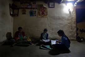 solar for home in india solar home systems light a new path for rural electricity