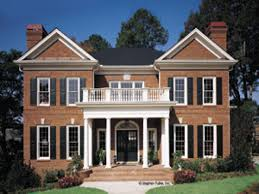 neoclassical homes plans neoclassical home plans