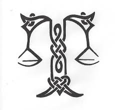 celtic libra scales s drawings