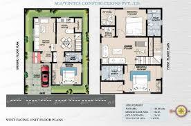 duplex house floor plans 30x40 house plans unique 30 40 duplex house plan duplex house plans