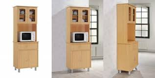 kitchen cabinet with top and bottom hodedah standing kitchen cabinet with top bottom enclosed beech