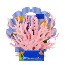 artificial light plastic coral fish tank aquarium plant ornament