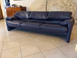 modèle canapé canapé cuir modèle maralunga vintage les vieilles choses