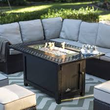 Propane Coffee Table Fire Pit by Coffee Table Napoleon Rectangle Propane Fire Pit Table Hayneedle