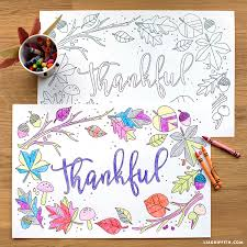 coloring placemats kids thanksgiving coloring placemats lia griffith