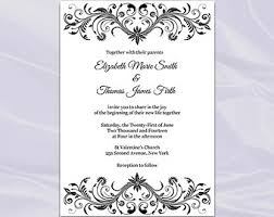 elegant wedding invitations templates iidaemilia com