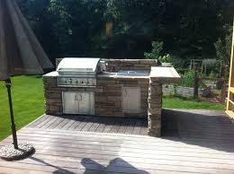 best 25 bbq island kits ideas on pinterest covered outdoor ben whitis built this great bbq island with back splash and a split bar counter using