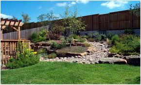 backyards impressive sloped backyard landscaping sloped front
