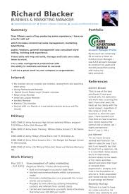 Sample Resume For Marketing Manager by Territory Manager Resume Samples Visualcv Resume Samples Database