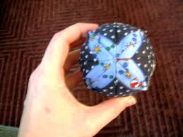 happy quilting quilted christmas ball ornament tutorial
