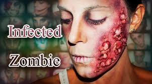Halloween Special Effects Makeup Ideas by Halloween Fx Makeup Infected Zombie Silvia Quiros Youtube