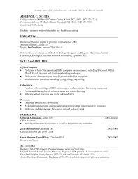 hostess resume skills jobsxs com
