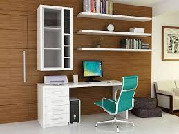 computer desk with shelves white office cozy home office ideas with brown textured wood wall