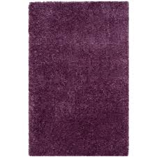 purple and pink area rugs safavieh california shag purple 4 ft x 6 ft area rug sg151 7373
